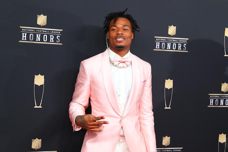 "Chargers safety Derwin James will miss ""significant"" time with a right leg injury. (Getty Images)"