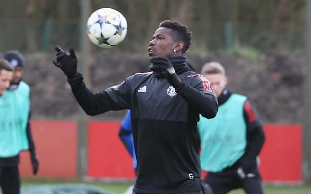 "Paul Pogbahas been left out of the starting line-up for the first-leg of Manchester United's last-16 Champions League tie in Seville. Although Pogba rained with the first-team for the past two days, after missing Saturday's FA Cup tie away to Huddersfield Town through illness, Jose Mourinho has not recalled him, confirming runours that began to filter out on Wednesday afternoon. Instead Mourinho continued with Scott McTominay, who replaced Pogba against Huddersfield, in a midfield alongside Nemanja Matic as he aims for a positive result to take into the second leg. Ander Herrera also starts after missing the last three games through injury. The decision to omit Pogba and make him a substitute will inevitably fuel the on-going debate over the midfielder's role at United under Mourinho. It seems extraordinary to omit Pogba for such a vital match but he has also been struggling for form. However it could simply be that having suffered from the illness – which has not been specified – he has been deemed not fit enough to start. Interestingly Mourinho suggested at his press conference on Tuesday that Pogba was fit to start. ""When a player is in a competitive [training] session it is normally because they are ready without problems,"" Mourinho said. How #MUFC line up for tonight's #UCL clash with Sevilla... pic.twitter.com/7g80OaosMv— Manchester United (@ManUtd) February 21, 2018 Pogba, the most expensive player to be bought by a British club, at £89million, has been substituted on his last two starts for United against Tottenham and Newcastle. He was left out of the team for the 2-0 win over Huddersfield in the Premier League on Feb 3 before coming on as a 65th-minute substitute. It has led to a debate as to whether or not Mourinho is getting the best out of the French international or that Pogba needs to simply work as his manager is demanding. Leaving him out of this tie only adds to that debate."