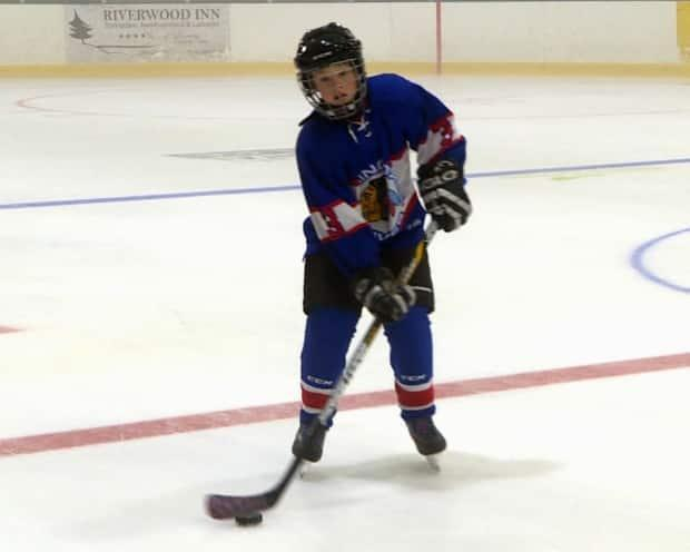 Carter Burton suited up for his first day at hockey camp a week ago. His dreams of playing minor hockey have been fulfilled thanks to Leonard Lye, an engineer in St. John's.
