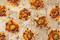 """<p>Meet the healthier version of your fave party app.</p><p>Get the recipe from <a href=""""https://www.delish.com/cooking/recipe-ideas/recipes/a51572/jalapeno-cheese-crisps-recipe/"""" rel=""""nofollow noopener"""" target=""""_blank"""" data-ylk=""""slk:Delish"""" class=""""link rapid-noclick-resp"""">Delish</a>.</p>"""