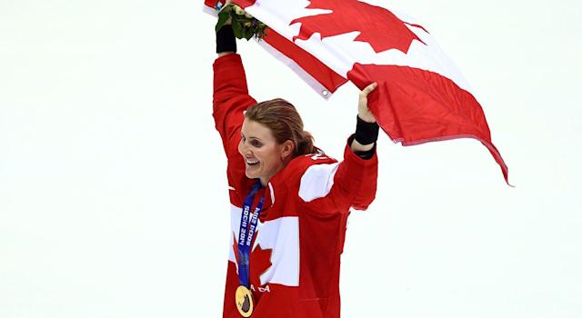 Hayley Wickenheiser is Canada's most decorated female hockey player. (CP)