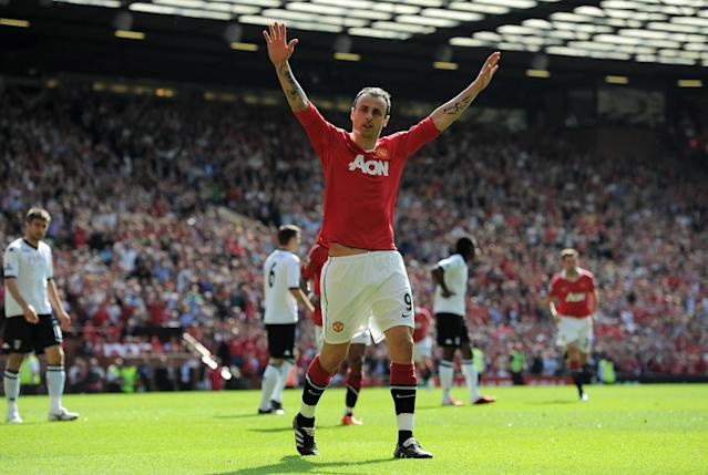 Dimitar Berbatov scored 48 goals in four seasons for Manchester United