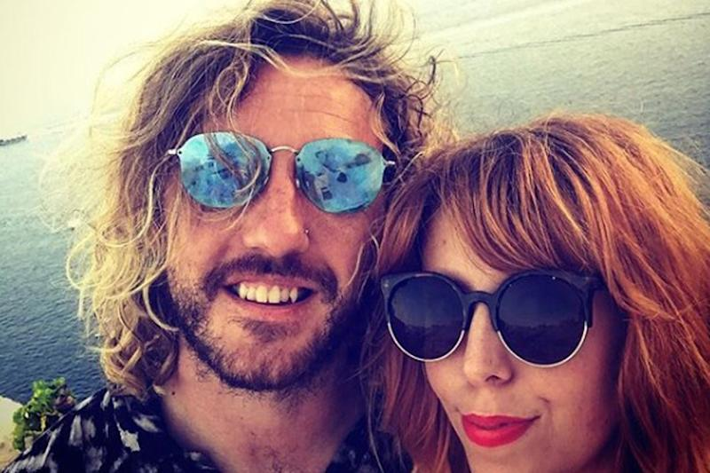 She's back: Rebecca Humprhies is moving on from her split from Seann Walsh: Rebecca Humphries/Instagram