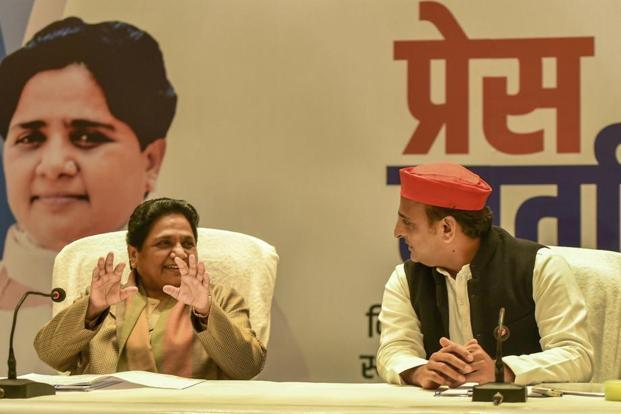 SP and BSP tie up for Uttar Pradesh ahead of 2019 polls