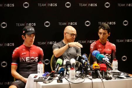 Cycling - Tour de France - Team INEOS news conference