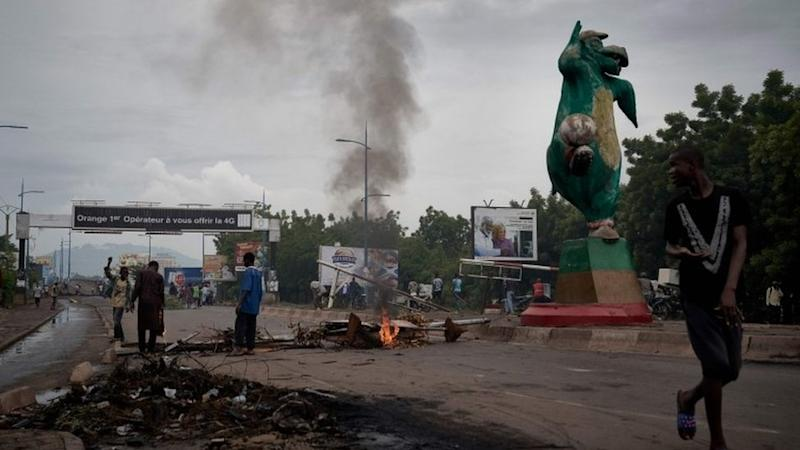 Protests in Mali