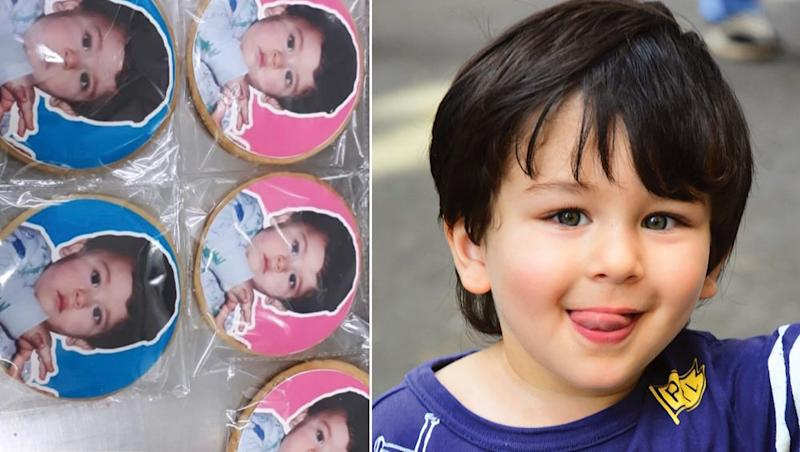 After Taimur Ali Khan Dolls, Chote Nawab Is Now Featured on Cookies Too? View Pics