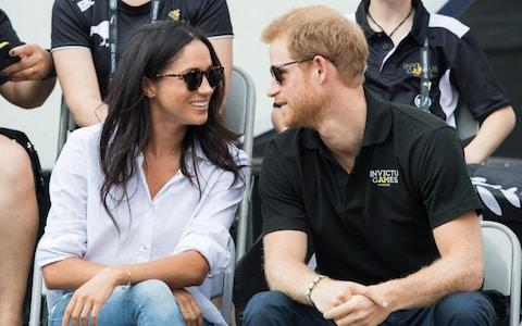 <span>The couple first public moment together on tour: in Toronto, 2017</span> <span>Credit: Getty </span>