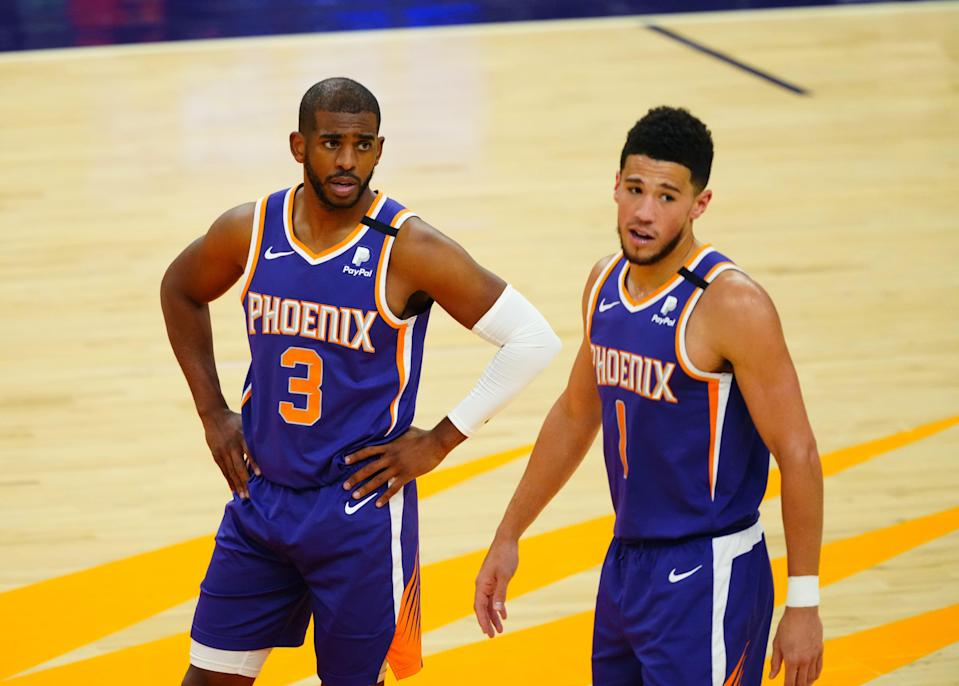 Chris Paul's presence as the primary ball-handler has allowed Devin Booker to flourish as the Suns' leading scorer.