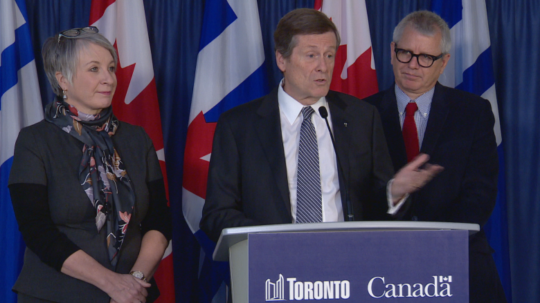 Mayor Tory praises feds for giving $8.6M to Toronto youth program, but wants much more