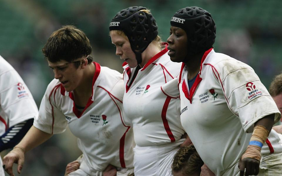Maxine Edwards was appointed England captain in 2003 - Getty Images