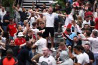 Euro 2020 - Fans gather for England v Germany