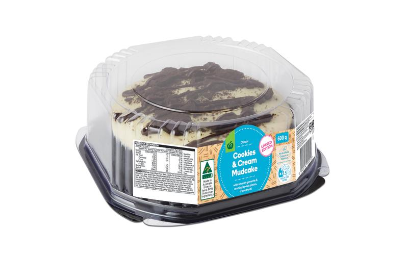 woolworths cookies and cream mudcake