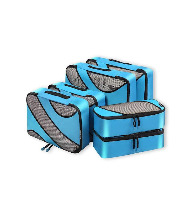 Bagail 6 Set Packing Cubes (Photo: Amazon)