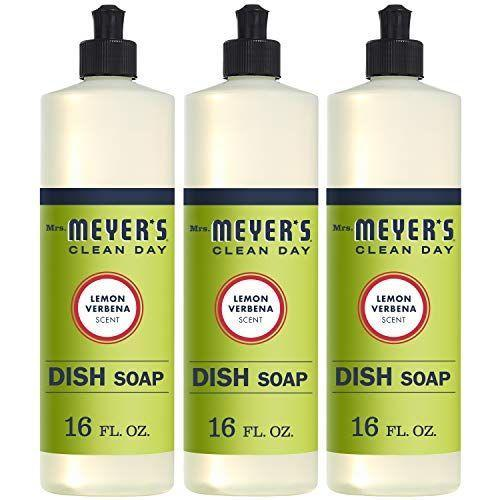 """<p><strong>Mrs. Meyer's Clean Day</strong></p><p>amazon.com</p><p><strong>$11.67</strong></p><p><a href=""""https://www.amazon.com/dp/B01MG2BJF0?tag=syn-yahoo-20&ascsubtag=%5Bartid%7C10060.g.35049077%5Bsrc%7Cyahoo-us"""" rel=""""nofollow noopener"""" target=""""_blank"""" data-ylk=""""slk:Shop Now"""" class=""""link rapid-noclick-resp"""">Shop Now</a></p><p>When your dish soap runs out, reuse the bottle to store other liquids. Plenty of people swear that using this kind of bottle is perfect for dispensing pancake batter. </p>"""