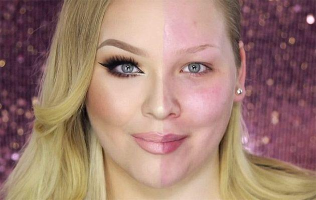 Nikkie's incredible transformation. Photo: YouTube.