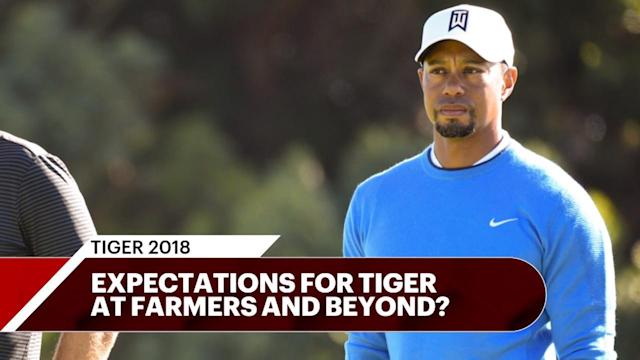 Farrell Evans, Josh Sens and Ryan Asselta discuss expectations for Tiger Woods in his first tour event of 2018.