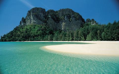 Thailand offers beaches free of windbreaks and donkey rides