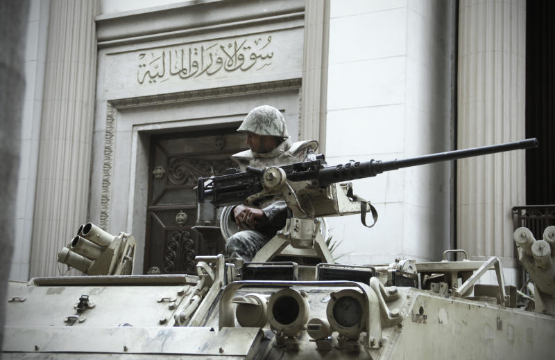 Egypt's ruling generals defend their businesses