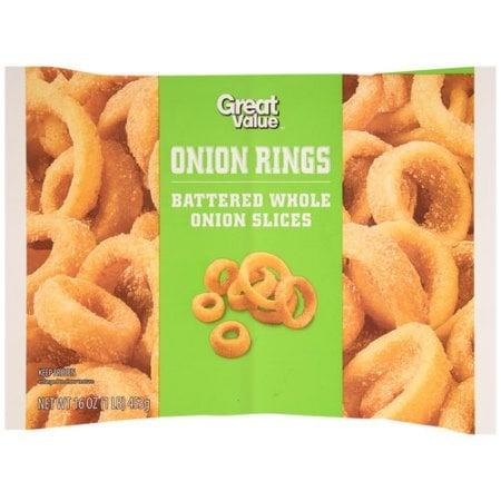 <p>As the brand suggests, these frozen snacks are a good . . . value (sorry). Not out of this world and not terrible, these average yet somewhat bland onion rings will give you your money's worth, but they won't knock your socks off.</p>