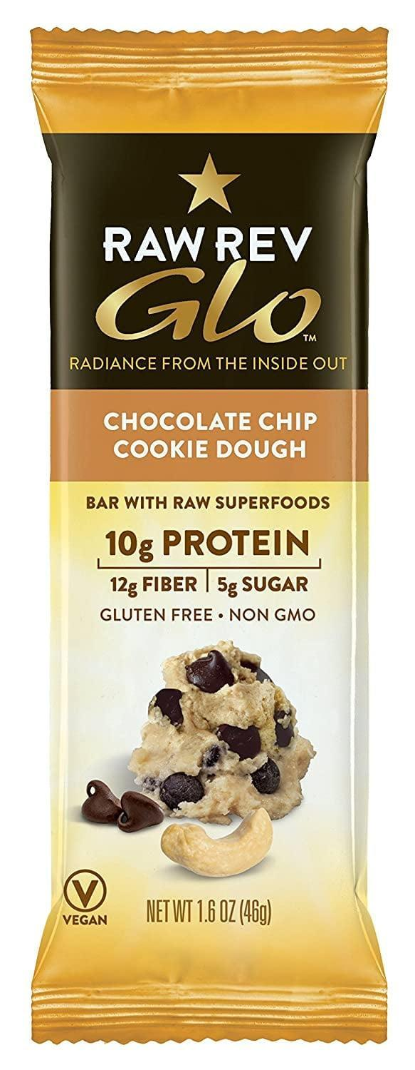 <p>If you're looking for the perfect on-the-go bar, these <span>Raw Rev Glo Protein Bars</span> ($24 for 12) are a favorite choice. It's always good to have something yummy on hand while you're traveling.</p>