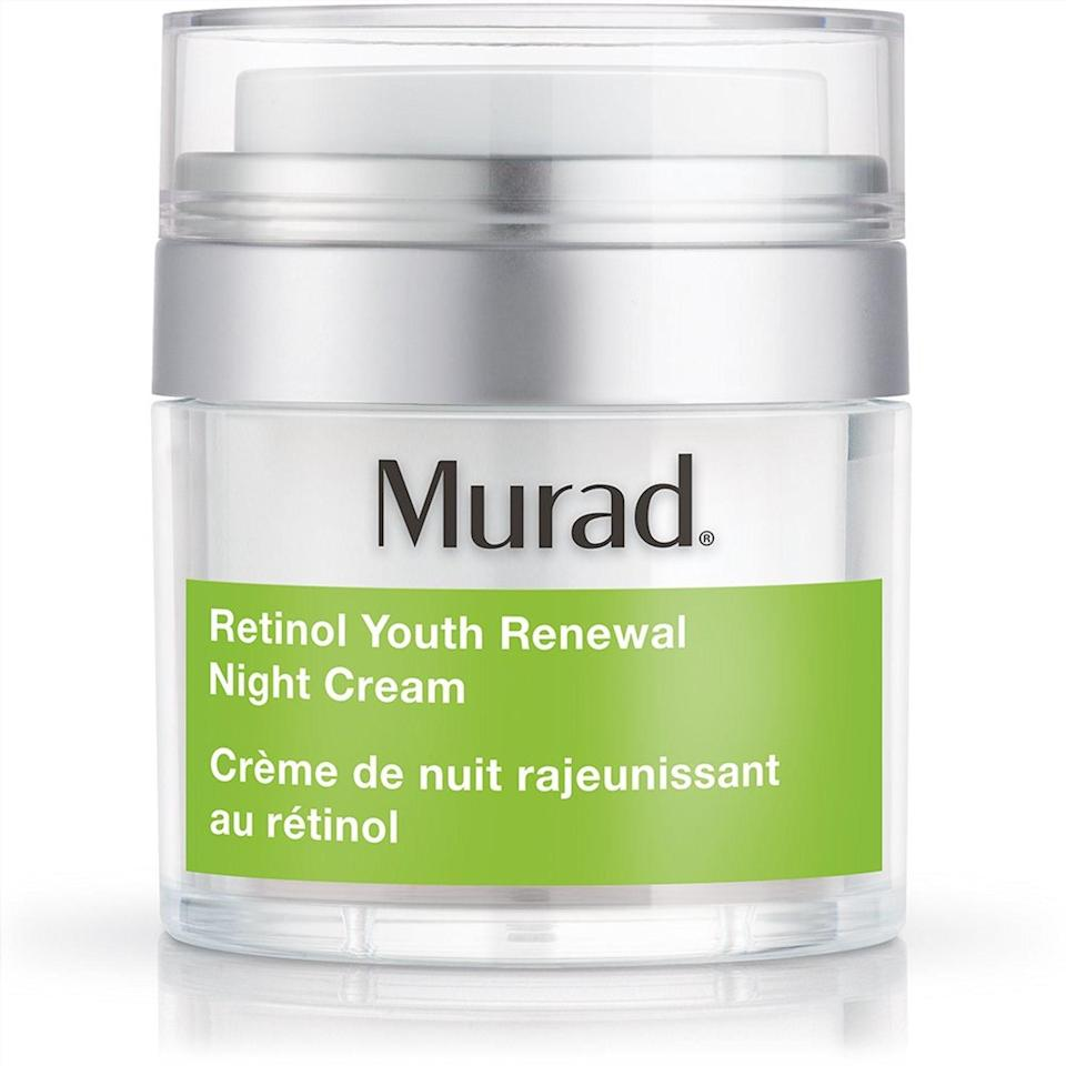 """<p>You've got your SPF-spiked moisturizer for day, so now all you need is a retinol-infused moisturizer for nighttime. Murad's Retinol Youth Renewal Night Cream is an outstanding option because, in addition to retinol's smoothing and complexion-evening benefits, it also helps support skin's natural healing process alongside firming algae peptides and skin-strengthening botanicals.</p> <p><strong>$82</strong> (<a href=""""https://www.anrdoezrs.net/links/8984085/type/dlg/sid/BestFaceMoisturizersForSummer/https://www.murad.com/product/new-retinol-youth-renewal-night-cream/"""" rel=""""nofollow noopener"""" target=""""_blank"""" data-ylk=""""slk:Shop Now"""" class=""""link rapid-noclick-resp"""">Shop Now</a>)</p>"""