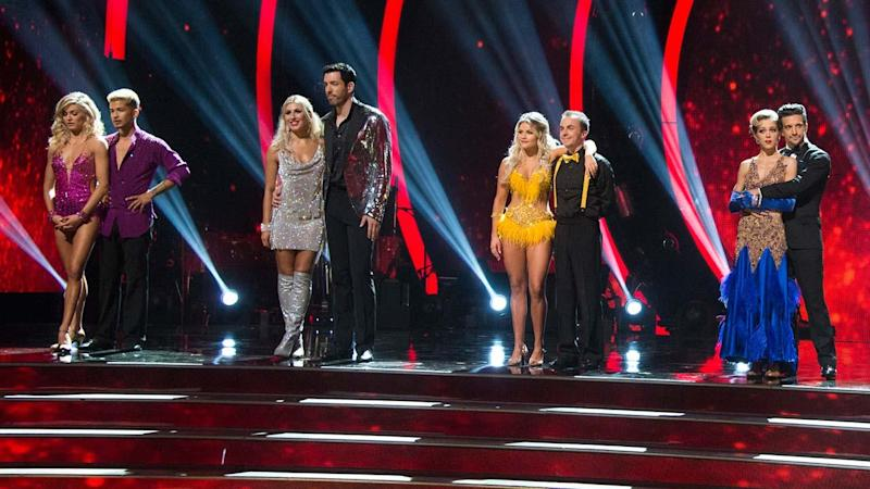 'DWTS' Competition Tightens After Long-Awaited Elimination in Night One of Season 25 Finals