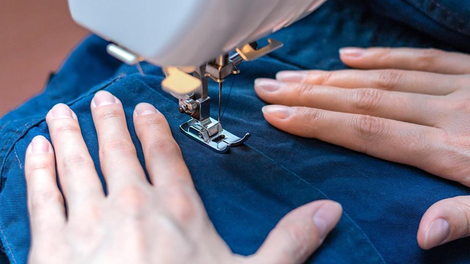 fixing clothing sewing