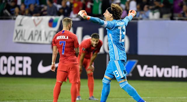 Unlike the women, the United States Men's National Team found itself on the wrong end of a shutout loss Sunday.