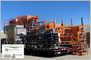 MCU's Comstock Mining Mercury Remediation System is set to commence its Pilot Project at American Flat.