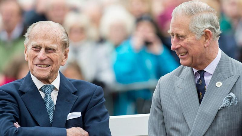 Prince Charles Shares Update on Father Prince Philip's Hospitalization