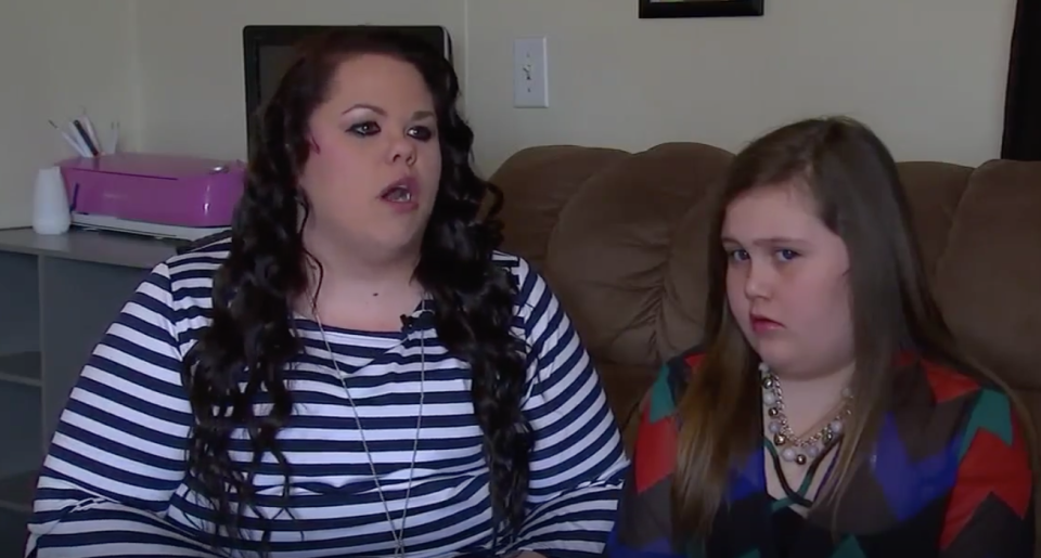 Britni Starling says duaghter Nora was bullied by her school bus driver. (Photo: ABC 11)
