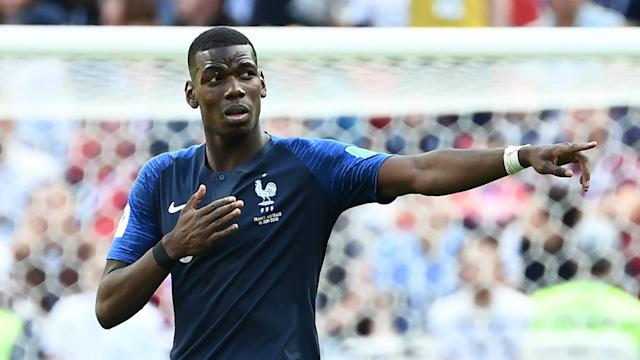 The Red Devils boss believes the midfielder's winner for France against Australia was actually an own goal, but concedes that he played well