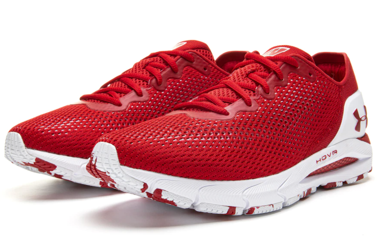 Badgers Under Armour HOVR Sonic 4 Running Shoe