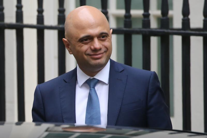 Britain's chancellor of the exchequer Sajid Javid. Photo: Isabel Infantes/AFP via Getty