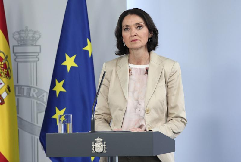 La ministra de Industria, Comercio y Turismo, Reyes Maroto. (Photo: Europa Press News via Getty Images)