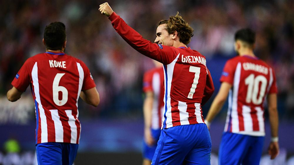 Antoine Griezmann Atletico Madrid Champions League
