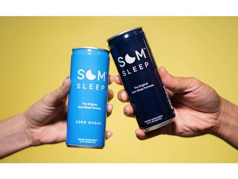 <p>If you have a hard time sleeping, <span>Som Sleep Pack</span> ($30 for 12) has got your back. All you have to do is drink a can a half hour before bed, and you'll feel relaxed and sleepy in no time. It contains melatonin, magnesium, vitamin B6. and L-theanine.</p>