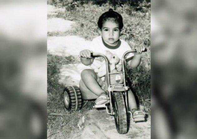Singh in an undated childhood photo.