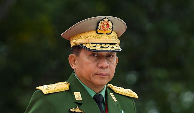 Xi Jinping is expected to meet Myanmar's military chief General Min Aung Hlaing during his visit. Photo: AFP