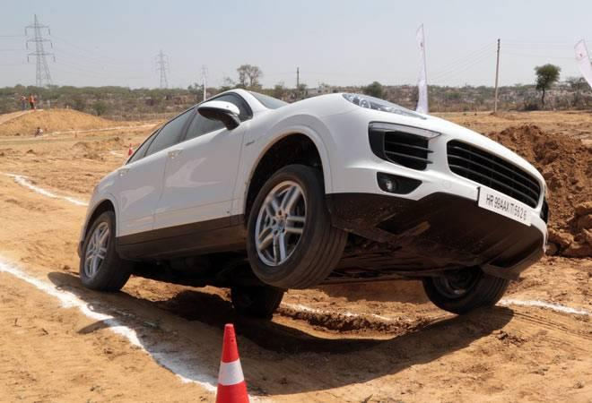 Porsche India showcases Cayenne and Macan off-road capabilities
