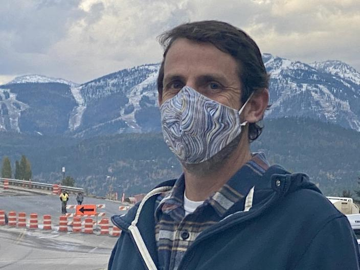 Whitefish city council member Steve Qunell urged restrictions to curb spread of the coronavirus.