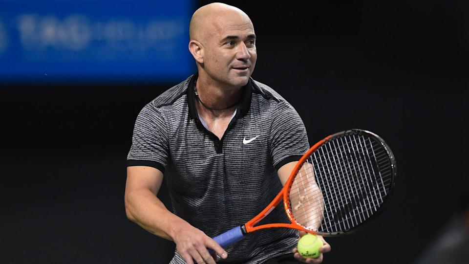 Andre Agassi'Charity Dream Match' Tennis event, at the Ariake colloseum, Tokyo, Japan - 22 Nov 2014.
