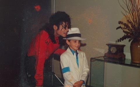 Michael Jackson with Wade Robson - Credit: Courtesy of Sundance Institute
