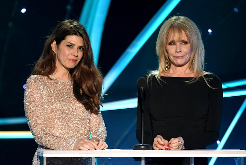 Marisa Tomei and Rosanna Arquette thanked women