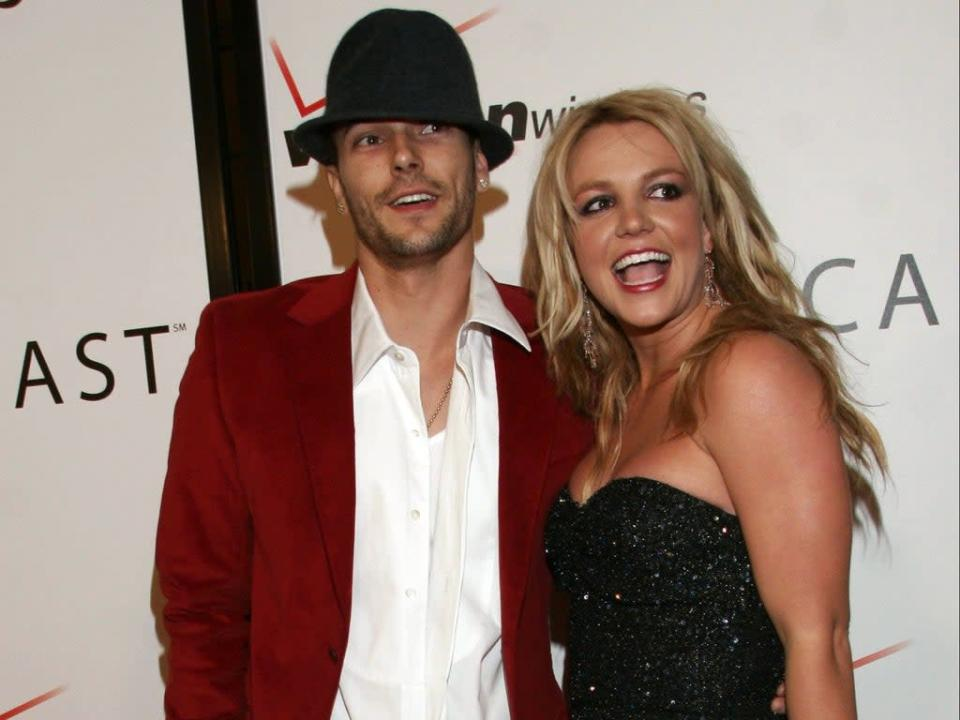 Britney Spears and Kevin Federline in 2006 (Getty Images)