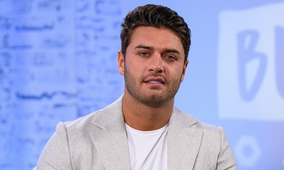"""The <em>Love Island</em> star <a href=""""https://news.yahoo.com/news/love-island-mike-thalassitis-left-notes-to-his-family-inquest-hears-112746869.html"""" data-ylk=""""slk:sadly took his own life;outcm:mb_qualified_link;_E:mb_qualified_link;ct:story;"""" class=""""link rapid-noclick-resp yahoo-link"""">sadly took his own life</a> in March aged just 26 years old. Mike Thalassitis had competed on the ITV2 series in 2017 and prior to his television work he had a successful football career. (Photo by Joe Maher/Getty Images)"""