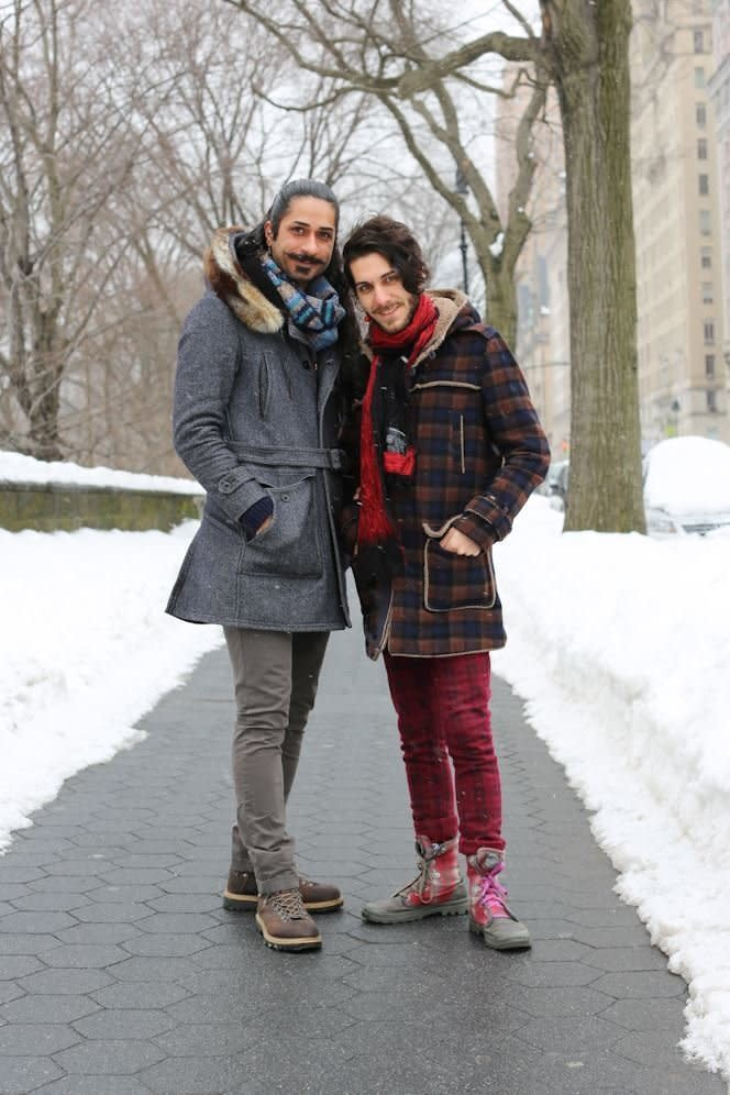 Haghjoo and Nia were featured on Humans of New York. (Humans Of New York)