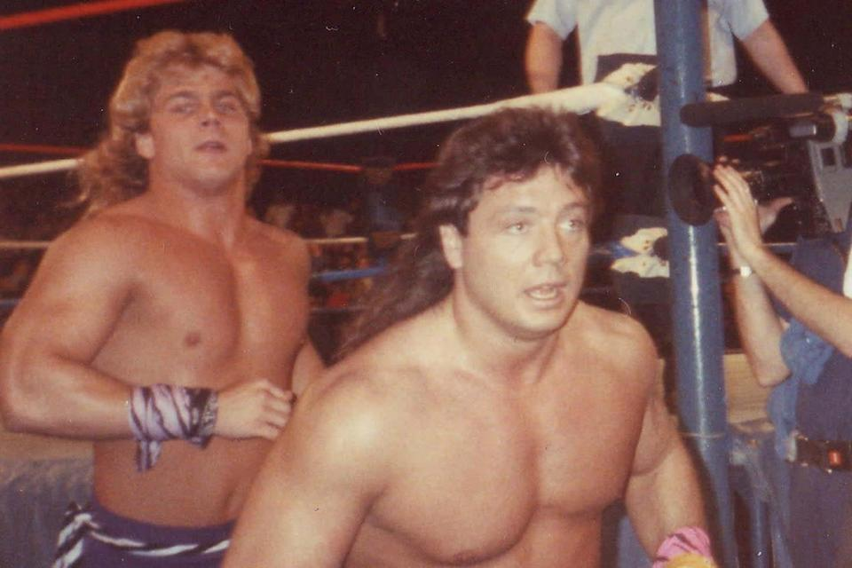 Marty Jannetty (right) during his time in The Rockers with Shawn Michaels: John McKeon/CC BY-SA 2.0