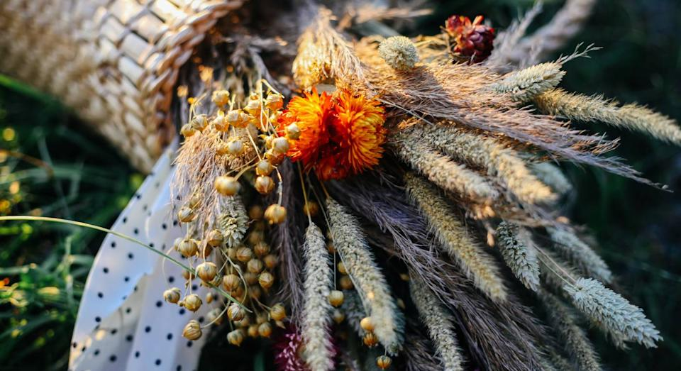 Dried flowers are the new interior trend you need to know about. (Getty Images)